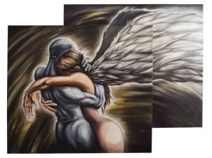 110x100 - olio su tela - collezione privata