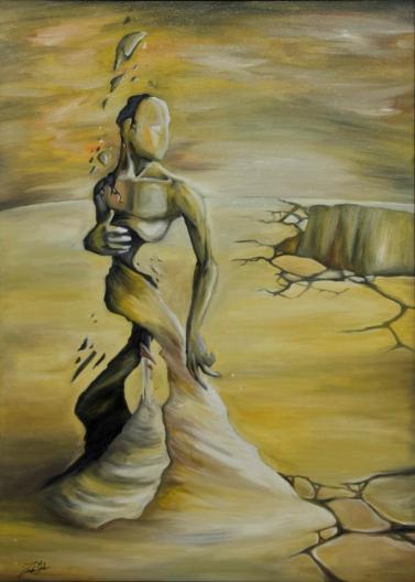 50x70 - olio su tela - collezione privata