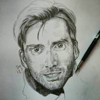 Serie tv e matite #davidtennant #jessicajones #killgrave #portrait #pencil #drawing