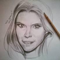 #katemara #pencil #portrait #fantastic4 #houseofcards
