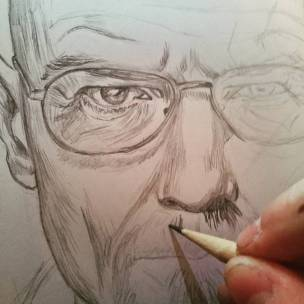 Chi sarà? #portrait #pencil