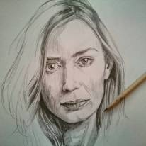 Che donna! #emilyblunt #portrait #pencil #sicario #edgeoftomorrow