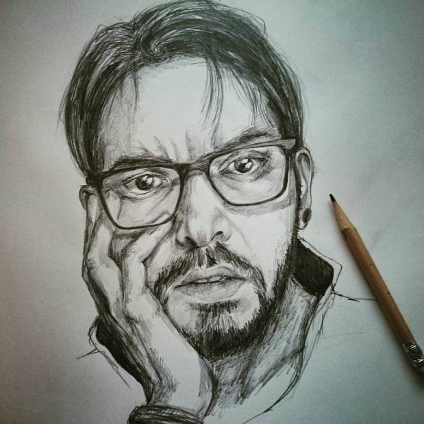 La matita sta finendo. #autoritratto #portrait #pencil #pencildrawing #autoportrait #me