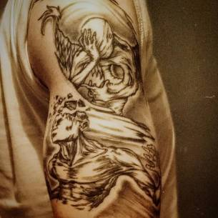 My tattoo #tattoo #art